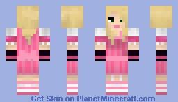 Bad Girl (No More Heroes) Minecraft Skin