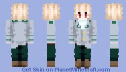 Katsuki Bakugo [School Invernal Uniform (My Hero Academia)] Minecraft Skin