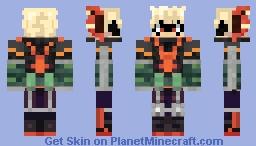 bakugou Katsuki Minecraft Skin