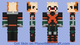 My Hero Academia - Katsuki Bakugo Minecraft Skin