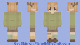 a forest explorer Minecraft Skin