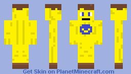 Banana Minecraft Skin