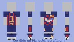 Barcelona FC Home Football kit [Steve Ver. in Desc.] Minecraft Skin