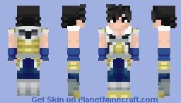 Bardock - Dragon Ball Super: Broly Minecraft Skin