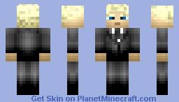 Barney Stinson Minecraft Skin