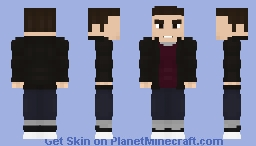 Barry Allen | Casual Suit (With Jacket/Season 1) - CW Minecraft Skin