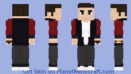 Barry Allen | Casual Suit (Season 2) - CW Minecraft Skin