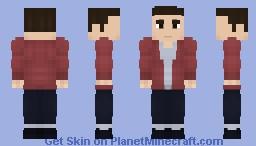 Barry Allen | Casual Suit (Season 3) - CW Minecraft Skin