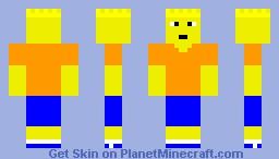 Bart Simpson Minecraft Skin