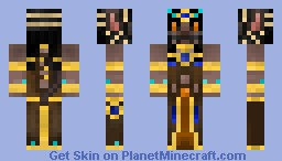 Bastet-Egyptian Cat Goddess-(mythological contest) Minecraft Skin