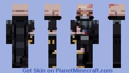 Battle Damaged Vader Minecraft Skin