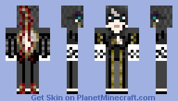 (Alice's Attempt at) Bayonetta Minecraft Skin