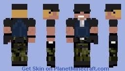 Clark KOF XIV Minecraft Skin