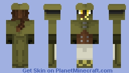 Brighella - Karakuri Circus Minecraft Skin