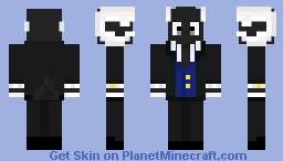 Goat with Suit Minecraft Skin