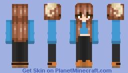 Ⓢ jschlatt gender flip Ⓢ Minecraft Skin