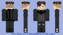 Batman (Bruce unmasked) Minecraft Skin