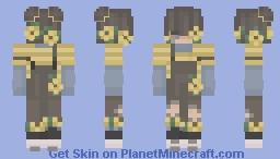 Child of Flowers Minecraft Skin