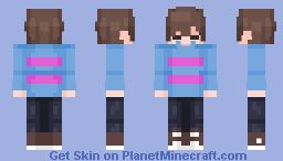 Frisk [Re-Make] Minecraft Skin