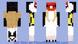 European Goldfinch Minecraft Skin