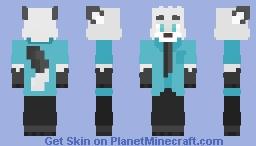 Snowy Nick Wilde Minecraft Skin