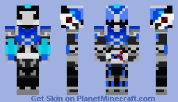 Archaeop Magia Custom Minecraft Skin