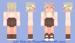 Spring Flowers Minecraft Skin