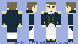 Royal Navy Officer, Napoleonic wars (1803-1814) Minecraft Skin