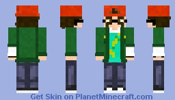 Hello Neighbor 2 Quentin Alpha 1.5 version Minecraft Skin