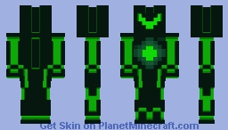 Green Robot Minecraft Skin