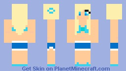 Beach Girl Minecraft Skin