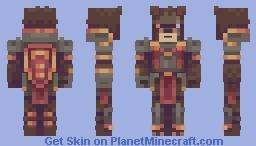 Grizzled Defender Minecraft Skin