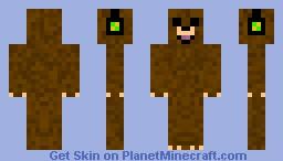 bear in headphones Minecraft Skin