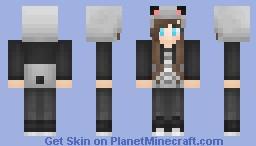 °ѕυgαя° Panda! Minecraft Skin