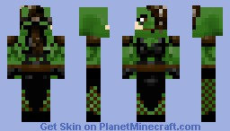 Botany [Long dress & Fishnets] Minecraft Skin