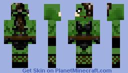 Botany Sinew (Orc Female) Minecraft Skin