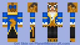 Beast - Beauty and the Beast [Contest] Minecraft Skin
