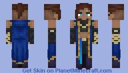 Beauregard -Critical Role- Minecraft Skin