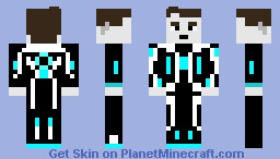 Beck - TRON: Uprising Minecraft Skin