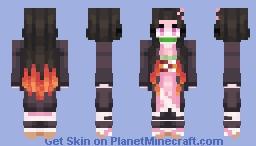 Nezuko Kamado Minecraft Skin