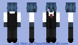 Koku | B: the Beginning | Anime Minecraft Skin