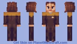 Chief Engineer B'elanna Torres Star Trek Voyager Minecraft Skin