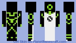 Ben 10 classic with Upgrade outer layer. Minecraft Skin