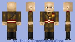 Benito Mussolini Minecraft Skin