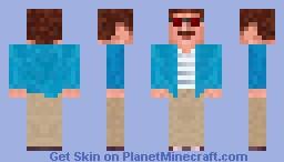 Bernie Lomax - Weekend at Bernies Minecraft Skin