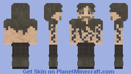 Berserker Painted Minecraft Skin