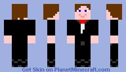 better buisness man Minecraft Skin