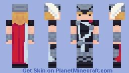 THOR - Marvel Comics (variants in description) Minecraft Skin