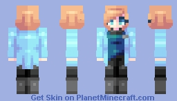 "♡ 𝓿𝒶𝓁𝓀𝓎𝓇𝒾𝑒𝓃 ♡ ""we have to dream in order to survive."" Minecraft Skin"