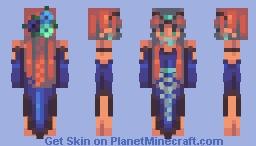 Blue Bird Minecraft Skin